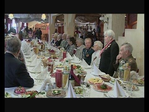 Праздник в ресторане