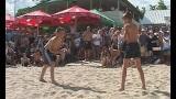 Первый открытый турнир по пляжной борьбе в Одессе