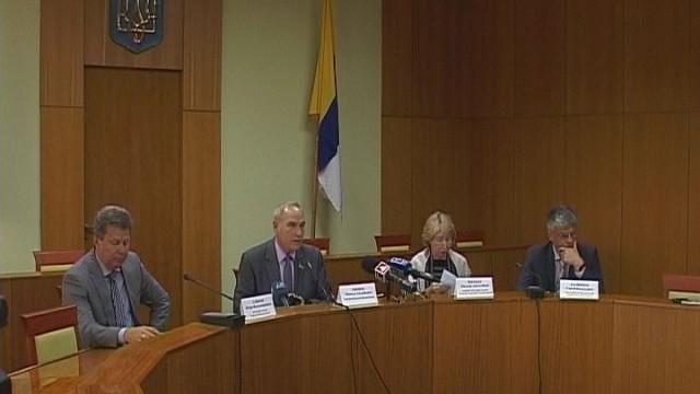 В Одесском областном совете состоялось заседание президиума