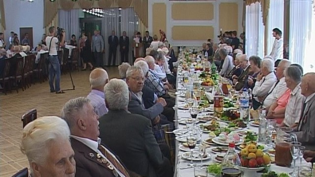 В Одессе чествовали ветеранов войны