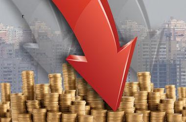 В Украине ускорилось падение ВВП