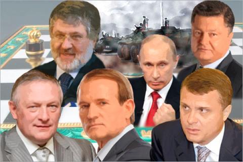 Почти тайные движения украинских олигархов