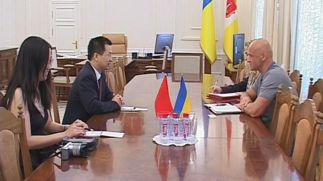 КНР – Одесса. Официальная встреча