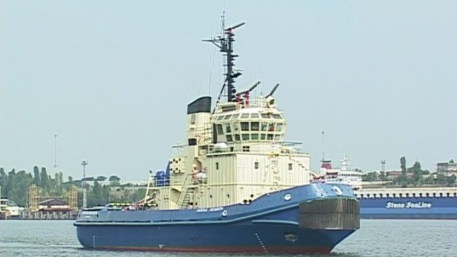 «Капитан Незавитин» — мощнейший буксир Ильичевского порта