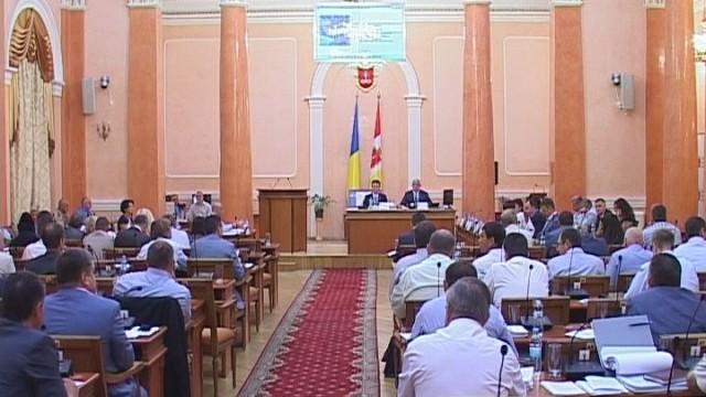 Сессия Одесского горсовета