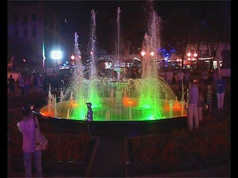 К 220-летию обновленный фонтан и «Бабель-фест»