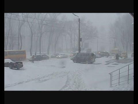 Снегопад в Одессе: город и регион парализованы