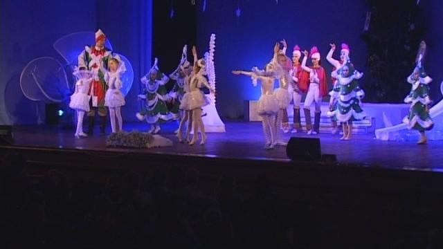 Новогодний переполох в русском театре