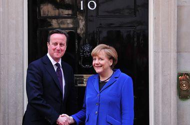 Меркель и Кэмерон хотят создать торговую зону между ЕС и США