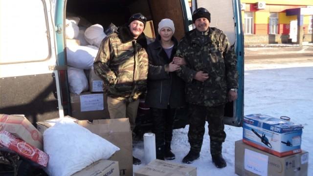 Жители Одесской области отправили в зону АТО три автомобиля