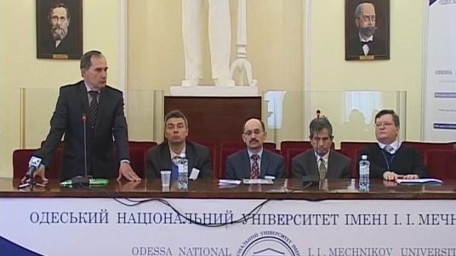 Научная конференция ко 150-летию ОНУ им. И.И.Мечникова