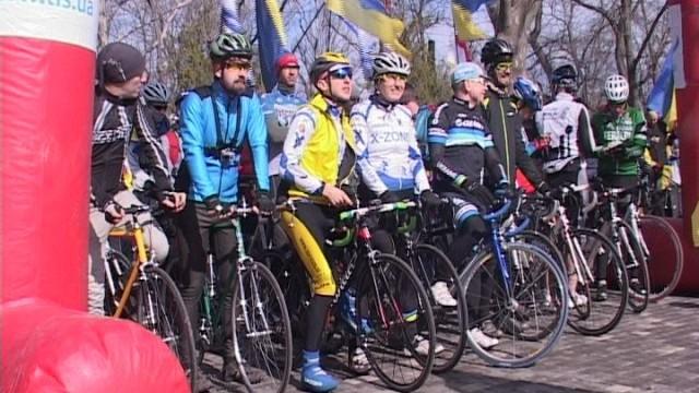 «Велосотка» ко дню освобождения Одессы