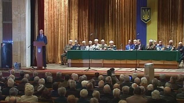 Собрание в Доме офицеров