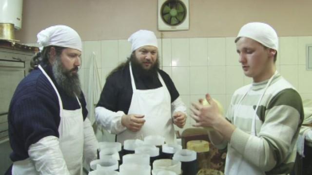 Монастырские пасхи. Секрет удивительной выпечки