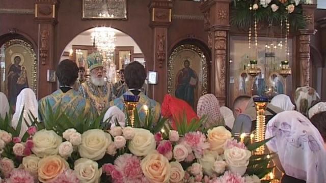 Богослужение в честь Иверской Иконы Богородицы