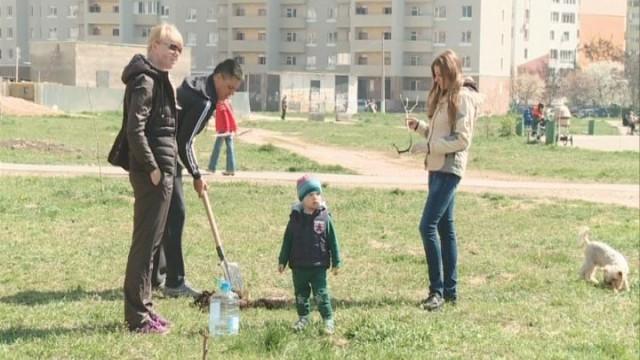 Субботник в Суворовском районе