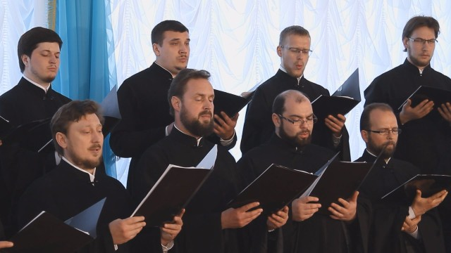 Песни военных лет «Эх, дороги» хор Одесской епархии УПЦ