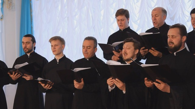 Песни военных лет «Журавли» хор Одесской епархии УПЦ