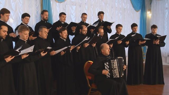 Песни военных лет «В лесу прифронтовом» хор Одесской епархии УПЦ
