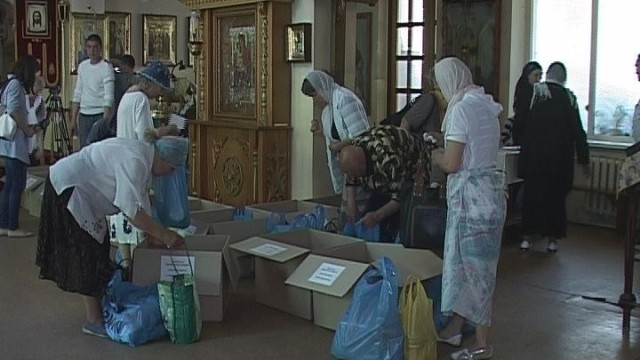 Гуманитарная помощь. Поддержка Одесской епархии