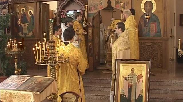 День Св. Николая. Храмовый праздник портовой церкви Одессы