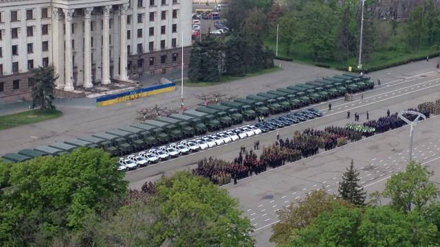 Одесса готовится к годовщине майской трагедии