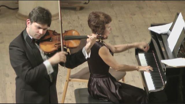 Чудесный звук скрипки