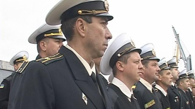 День пограничника в Одессе