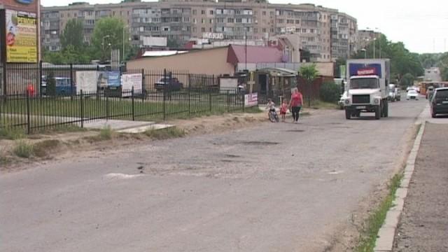 Ремонт дороги в Суворовском районе