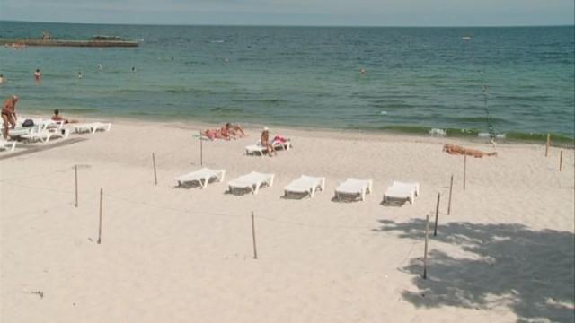 Зона пляжа: некомфортный отдых