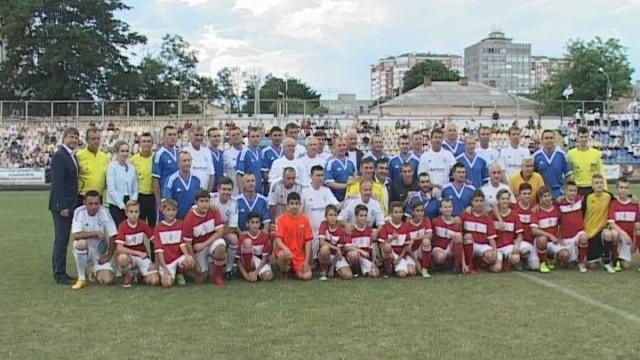 Футбол на «Cпартаке». Поддержка украинской армии в зоне АТО