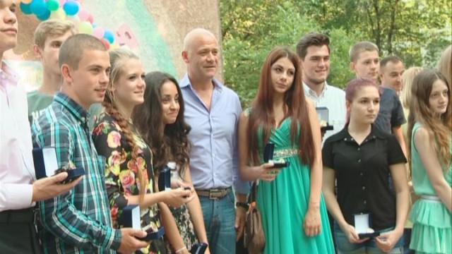 Мэр посетил детский лагерь «Виктория»