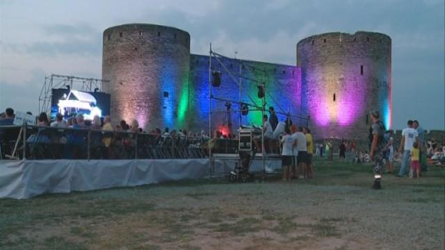 Open-air концерт в Белгород-Днестровской крепости