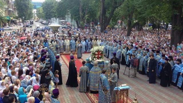 Крестный ход за мир в Украине