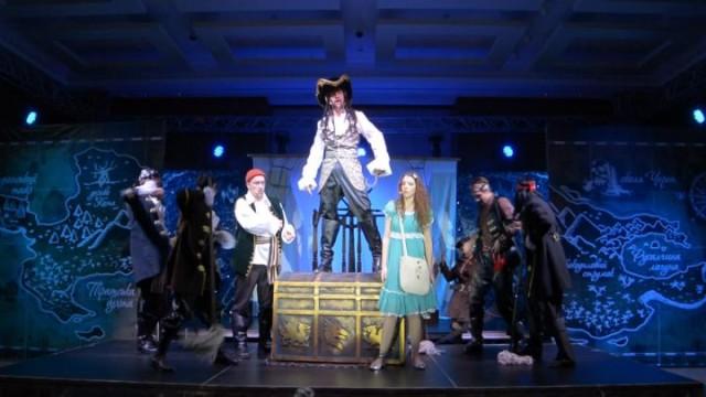 «Сокровища капитана Крюка» на одесской сцене
