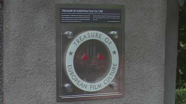 Памятный знак «Сокровище европейской кинокультуры»