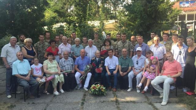 100-летний юбилей ветерана войны