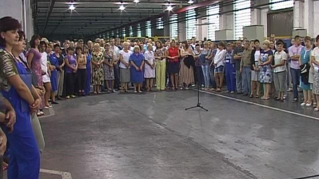 Встреча на предприятии «Одескабель» : вопросы работников к мэру