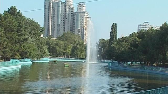 Парк Победы: гости из Стамбула