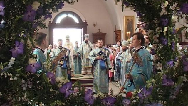 Успение.  Праздник патриаршей обители