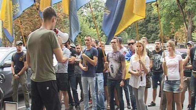 Митинг ГК «Азов»