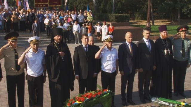 Одесса чтит и помнит подвиги партизан