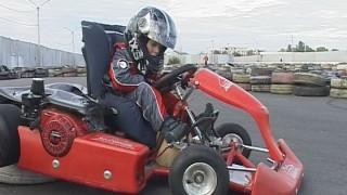 Юный гонщик из Одессы