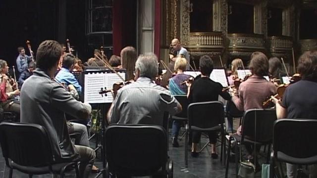Знаменитый Стефано Монтанари на сцене Одесского оперного