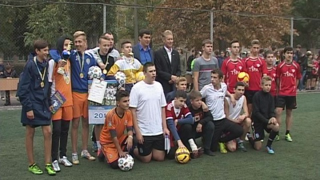 Школа №61. Мини-турнир по футболу