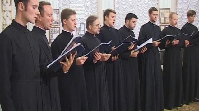 Концерт Архиерейского мужского хора Свято-Иверского монастыря