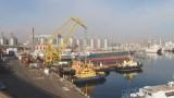 Одесский порт увеличивает свой грузооборот