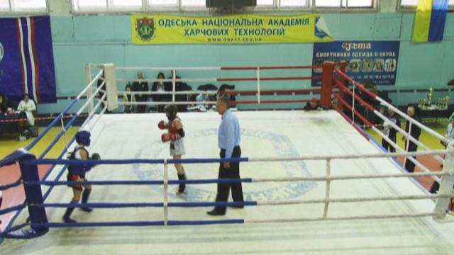 В Одессе проходит Финал Кубка Украины по таиландскому боксу