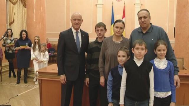 Юные одесситы — в гостях у мэра