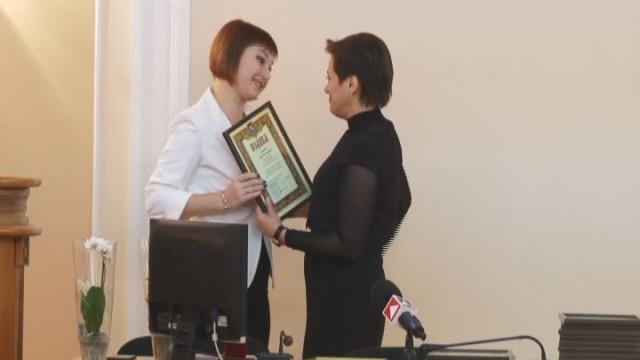 Поздравления работникам центра админуслуг